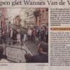 De buste van Wannes in Klein Antwerpen